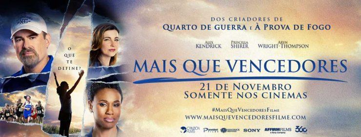 """Filme """"Mais que Vencedores"""" chega aos cinemas brasileiros em 21 de novembro."""