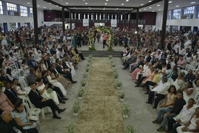 Casais podem se inscrever para participar de casamento comunitário em Aparecida de Goiânia